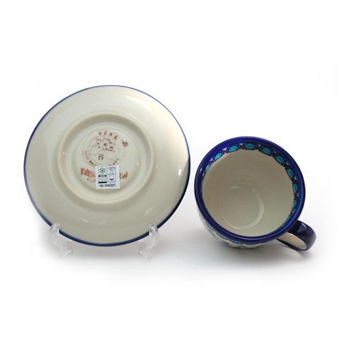 ポーランド食器 カップ&ソーサー