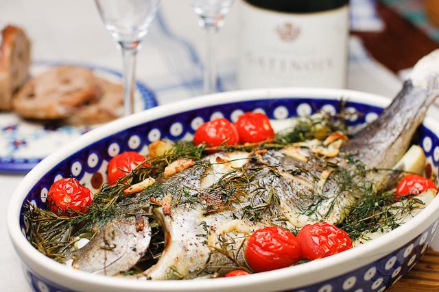 魚のオーブン焼き