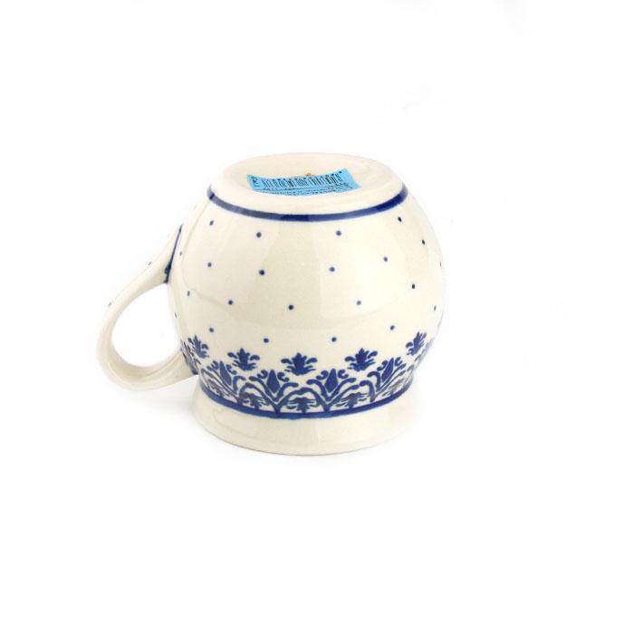 ポーランド陶器 ポーリッシュマグ・小